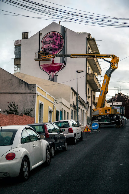 Second Street Art Mural By How Nosm For Underdogs 10 On The Streets Of Lisbon, Portugal 9