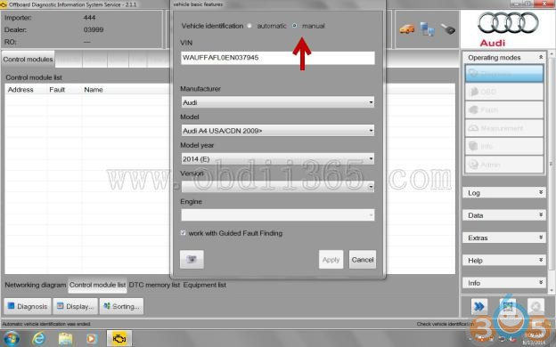Care U car » Blog Archive » How to get VW radio codes with ODIS-Service