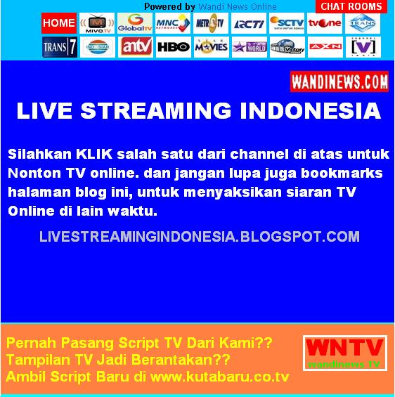 Tv lokal indonesia gratis