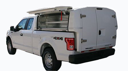 Durashell, Fleetwest Transferable Truck Bodies, Fiberglass service bodies, pickup work trucks