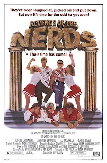 Revenge of the Nerds 1984 movie poster