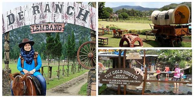 Tempat Wisata Lembang D Ranch