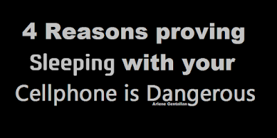 4 Reasons proving Sleeping with your Cellphone is Dangerous