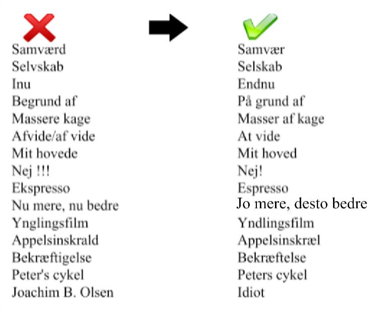 casa kaos  dansk for dummies