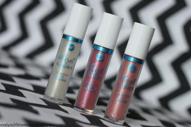Bell Secret Garden Sparkly Lip Gloss 01 03 04