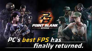 Cara Bermain Game Point Blank di Smartphone Android