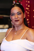 Mumaith Khan Spicy pics in Deep Neck White Gown at Zee Telugu Apsara Awards 2017 03.JPG