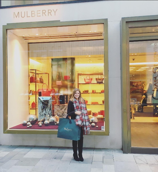 Mulberry Store Manchester Spinningfields