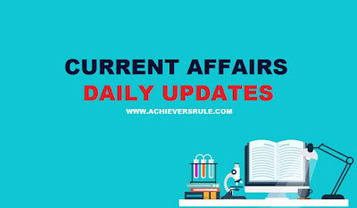 Current Affairs Updates - 21st June 2018