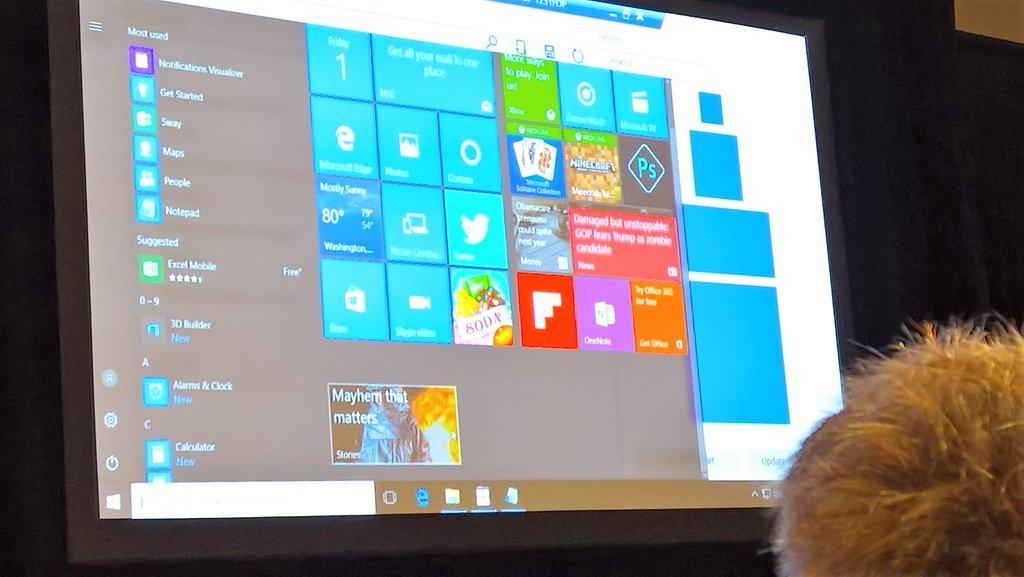 Windows 10: arrivano le Chaseable Live Tiles HTNovo