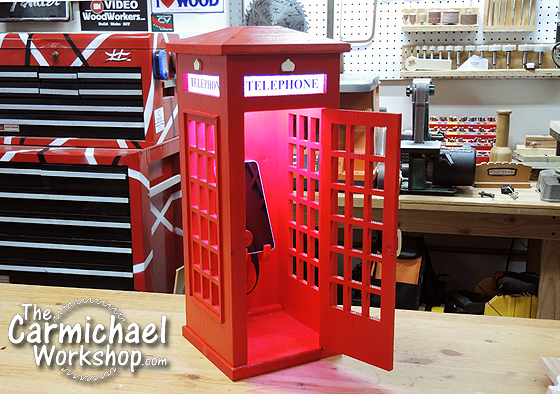 british phone booth lamp charger