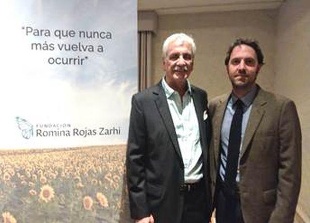 Eliot Rojas y Fernando Valle