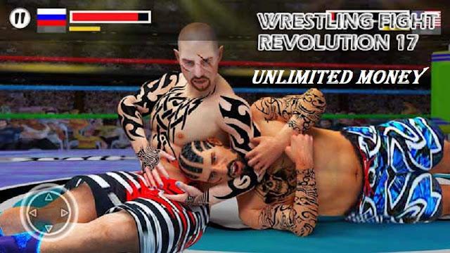 Download Wrestling Fight Revolution 17 Mod Apk Game