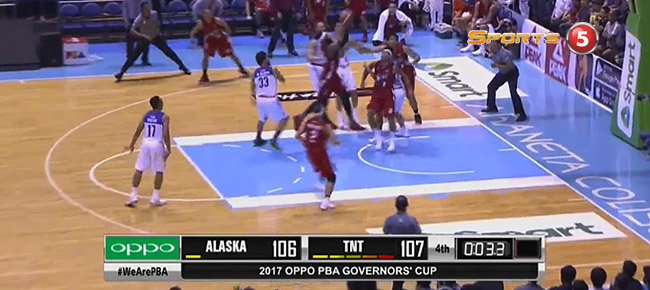 TNT def. Alaska, 107-106 (REPLAY VIDEO) August 4