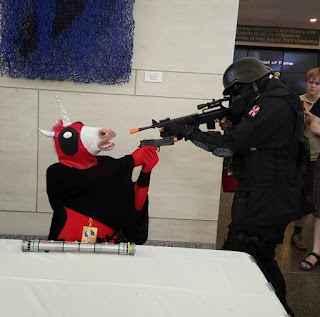 Deadpoolicorn Vs Army