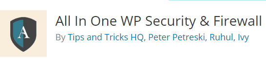 Plugin Security Terbaik Untuk WordPress All in One WP Security and Firewall