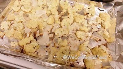 Roasted Cauliflower and Onions