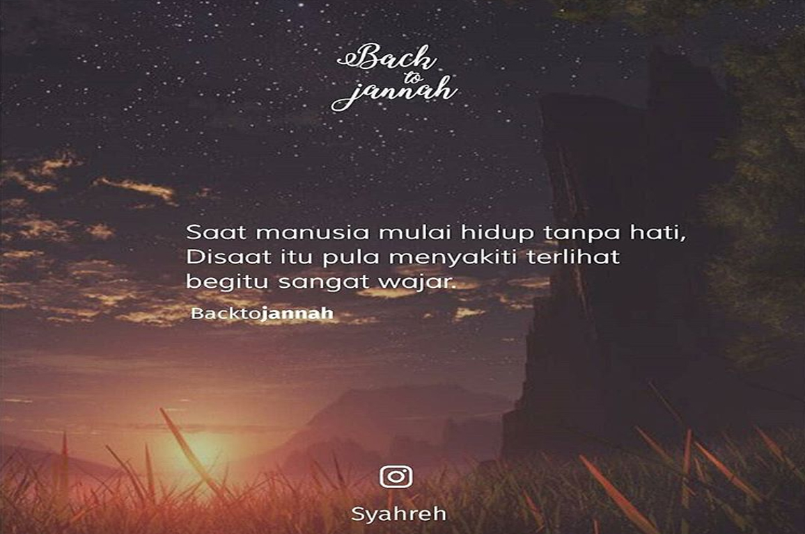 Quote Baper Islami - Nusagates