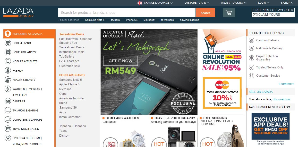 example of e commerce website in malaysia