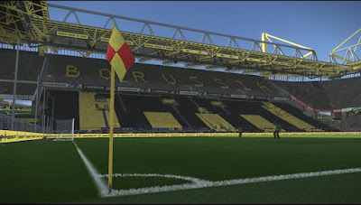 PES 2018 No Crowd Stadium by GOAL