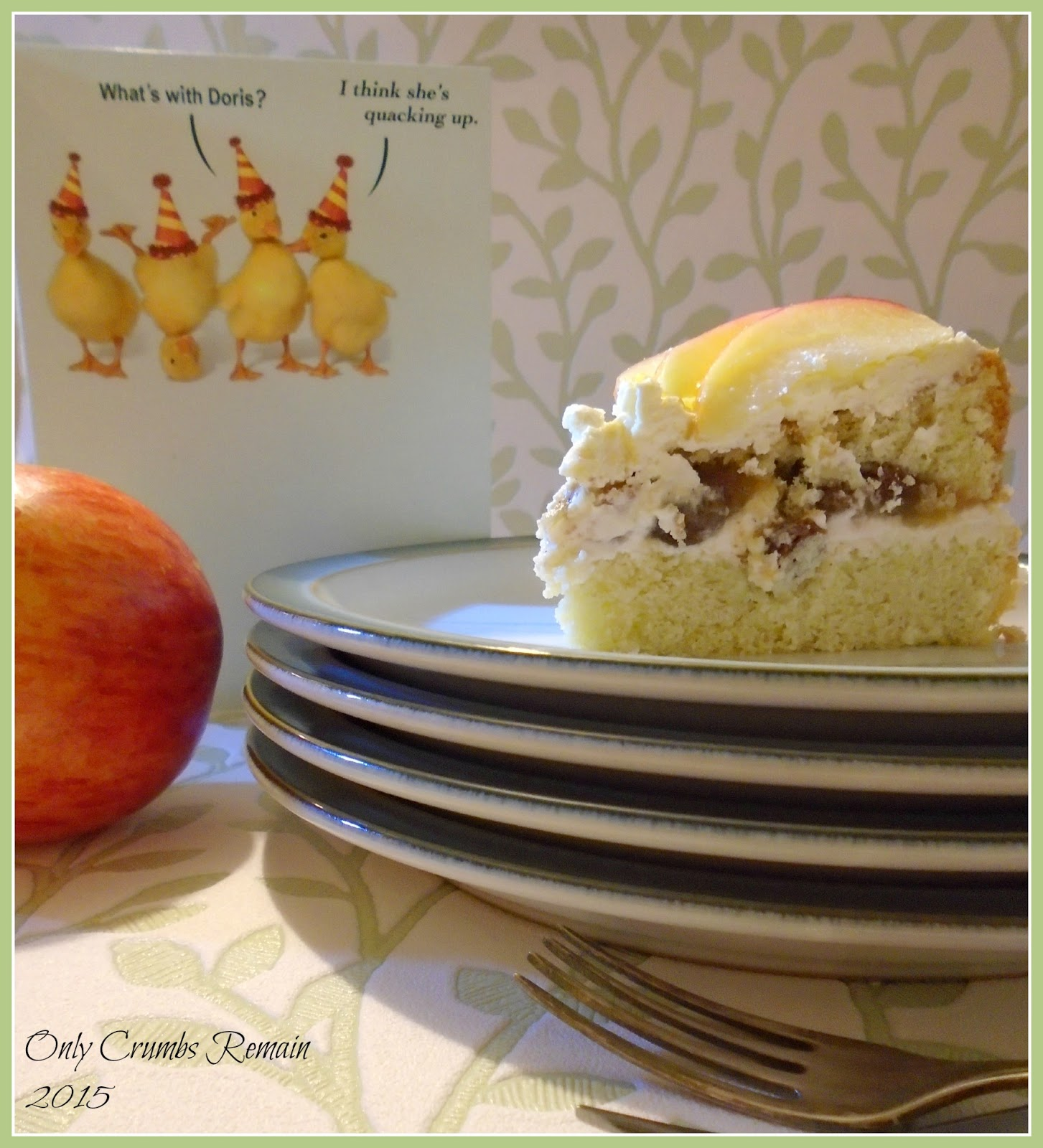Only crumbs remain apple and cinnamon genoise cake apple and cinnamon genoise cake urtaz Gallery