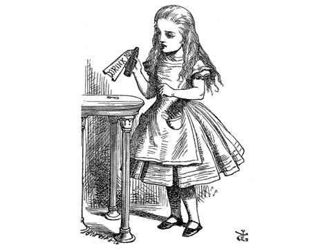Ilustración de John Tenniel para Alicia en el País de las Maravillas - Cine de Escritor