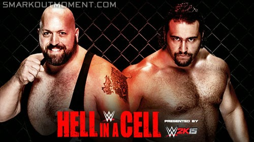 WWE Hell in a Cell 2014 ppv Big Show vs Rusev match