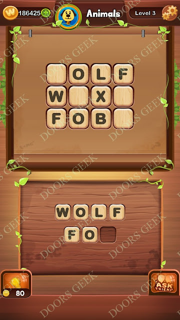 Word Bright Level 3 Answers, Cheats, Solutions, Walkthrough for android, iphone, ipad and ipod