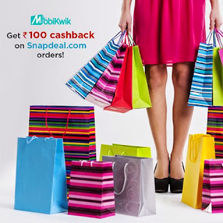 Shop on Snapdeal and get Rs 100 cashback ( only for today )