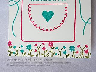 Occasion Catalogue Apron  Mini Thank You card Satomi Wellard-Independent Stampin'Up! Demonstrator in Japan and Australia, #su, #stampinup, #cardmaking, #papercrafting, #rubberstamping, #stampinuponlineorder, #craftonlinestore, #papercrafting, #handmadegreetingcard, #greetingcards  #2018occassionscatalog, #apronoflove  #apron #スタンピン #スタンピンアップ #スタンピンアップ公認デモンストレーター #ウェラード里美 #手作りカード #スタンプ #カードメーキング #ペーパークラフト #スクラップブッキング #ハンドメイド #オンラインクラス #スタンピンアップオンラインオーダー #スタンピンアップオンラインショップ #動画 #フェイスブックライブワークショップ #2018オケージョンカタログ #エプロンオブラブ #エプロン