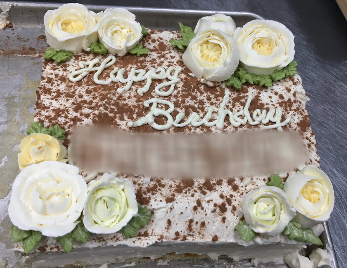 Studies of plants and wildlife gteau opra opera cake matcha here is the decoration for the ordered birthday cake today at the shop mightylinksfo Image collections