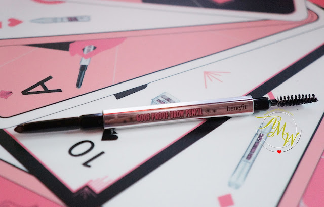 a photo of Benefit NEW Brow Collection goof proof pencil