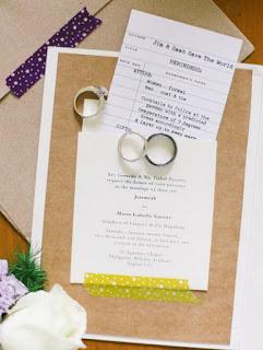 Contoh Desain Undangan Pernikahan Kreatif 3