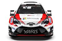 Toyota Yaris WRC 2017 Front