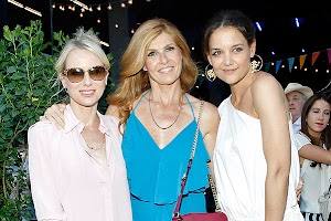 Katie Holmes and other guests Summer Party brand Coach