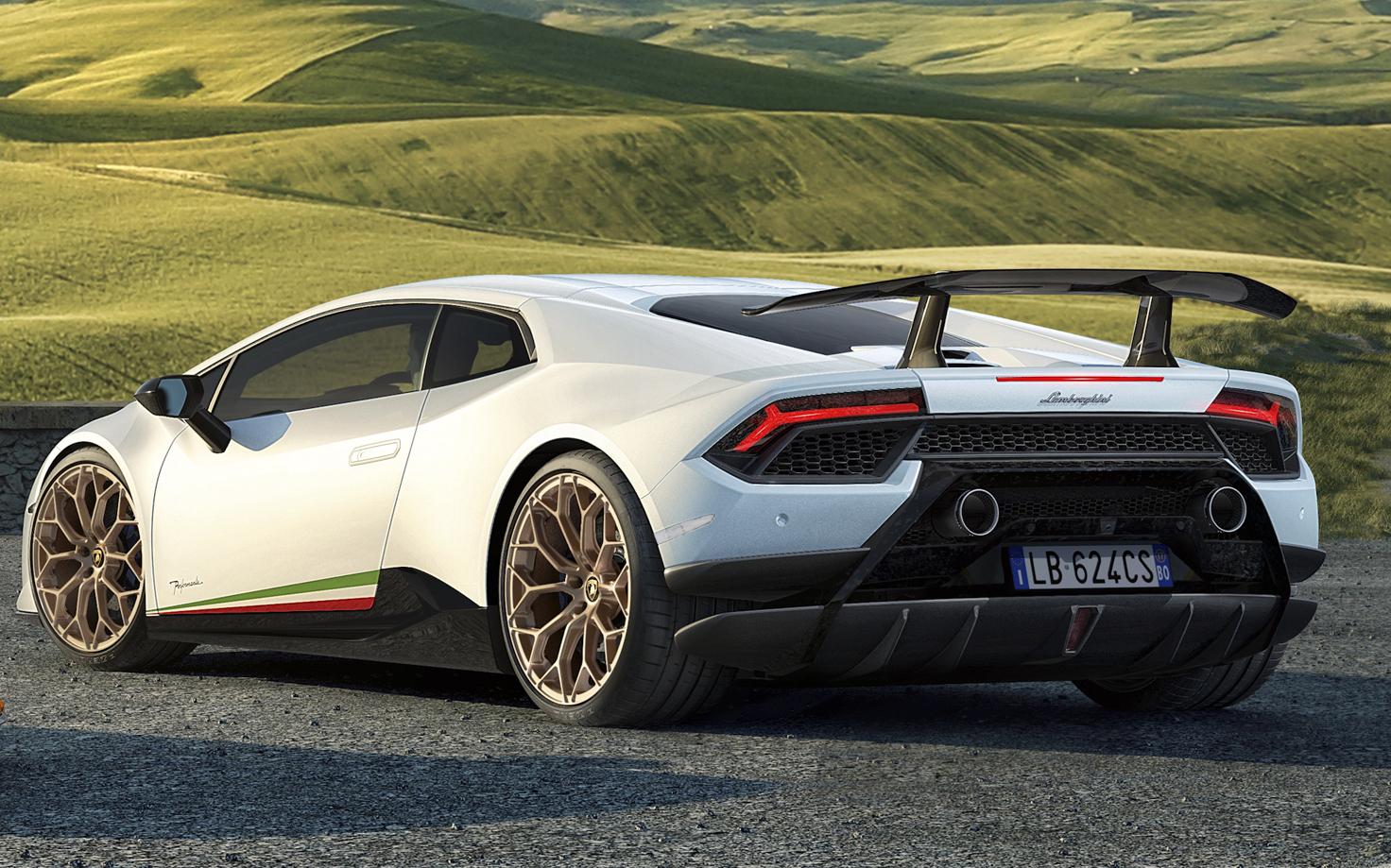 Lamborghini Huracán Performante: fotos e especificações ...