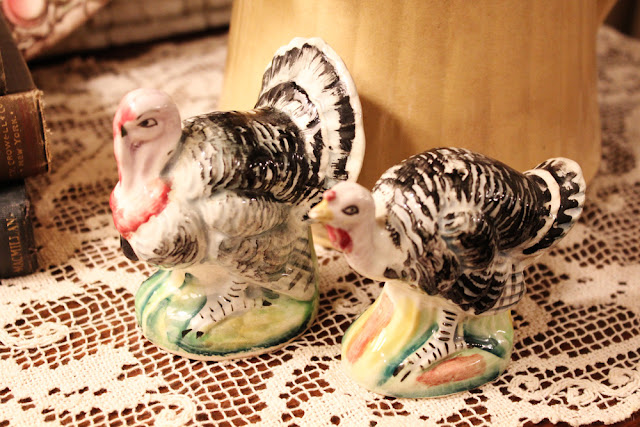 Vintage Thanksgiving turkeys
