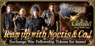 FINAL FANTASY XV and KING'S KNIGHT –Wrath of the Dark Dragon- - Special Crossover Event