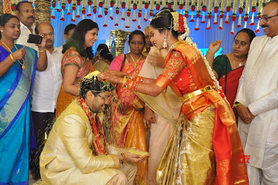 Producer-Rammohanrao-Daughter-Dedeepya-weds-Vishnu-Charan-Wedding2