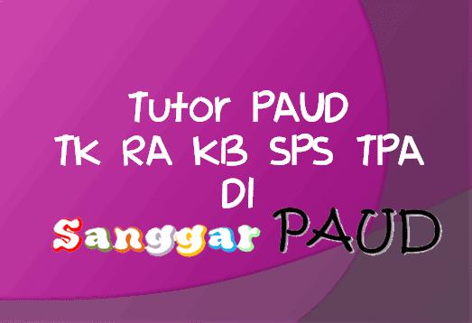 Download Contoh Berkas RPPH PAUD Minggu ke 15 Kurikulum 2013