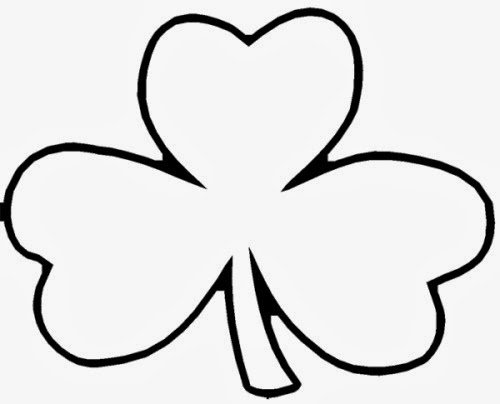 early play templates St Patricku0027s Day Shamrock templates - shamrock template