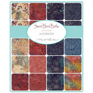Moda Sweet Blend Batiks Fabric by Laundry Basket Quilts for Moda Fabrics