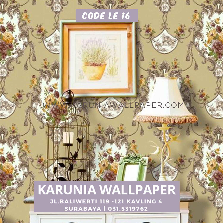 hiasan interior rumah wallpaper klasik