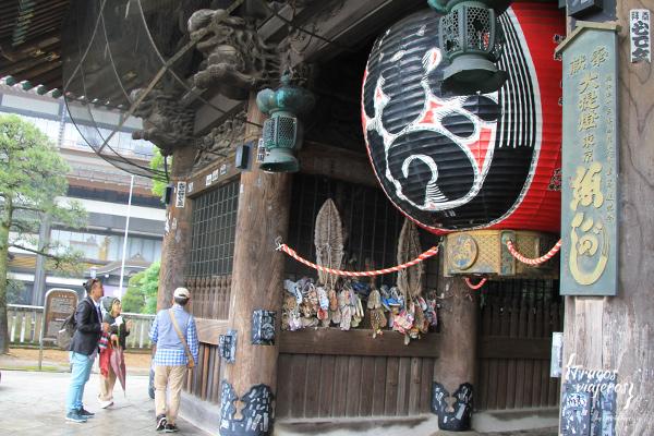 puerta Niomon templo Naritasan Shinshoji