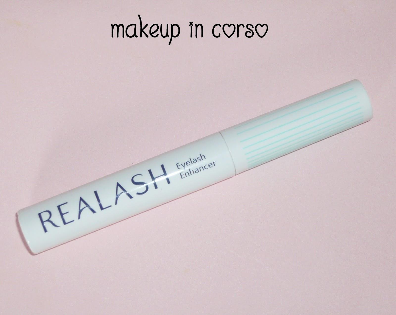 cfe39ffdb28 Makeup in Corso: Ciglia e sopracciglia più belle con Realash