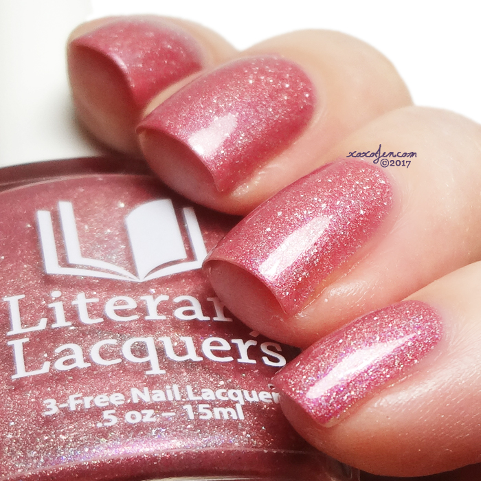 xoxoJen's swatch of Literary Lacquers Feather Family