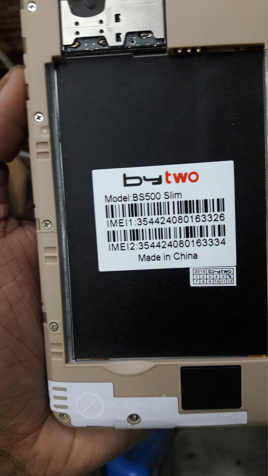 Micromax B5 Flash File V06