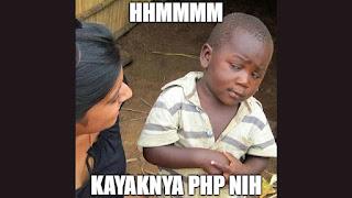 Cara Tepat Menanggapi PHP