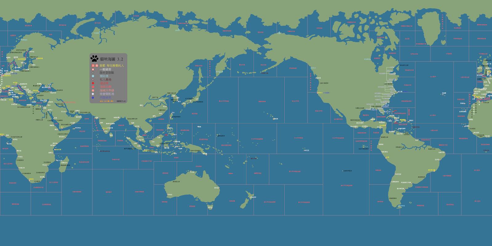 大航海時代Online海圖&地圖總匯