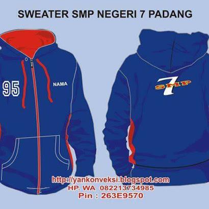 SWEATER SMPN 7 PADANG